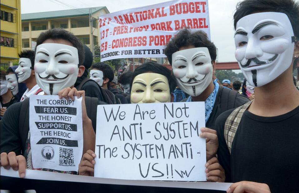 Protestos V de Vingança