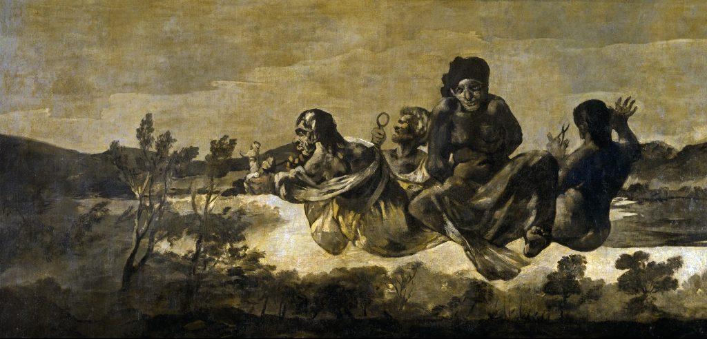Átropos Las Parcas Goya