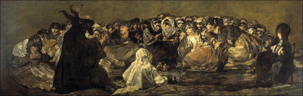 El Gran Cabrón Aquelarre Goya