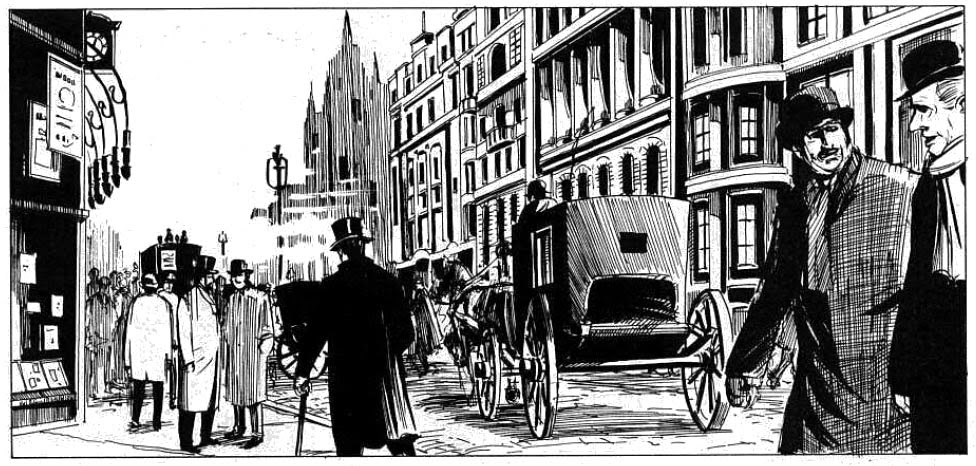 A Londres vitoriana de Eddie Campbell em Do Inferno Alan Moore