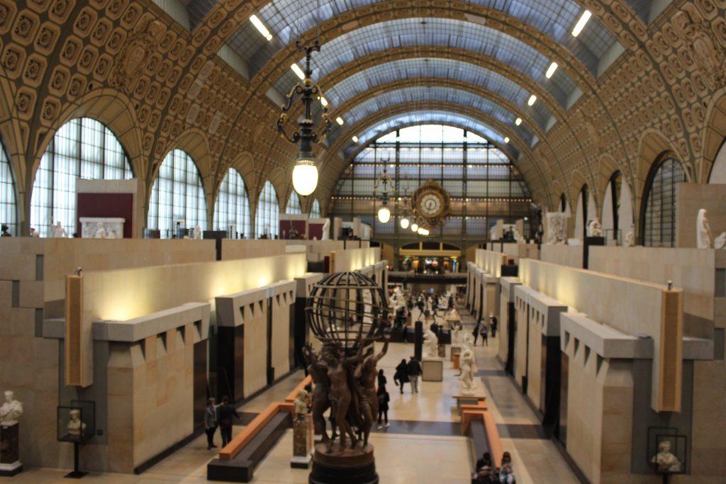 Interior do Musée d'Orsay - © Bernardo Supranzetti - Todos os direitos reservados