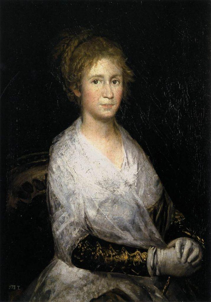 Quadro que retrata Josefa Bayeu de 1805 de Goya. Ainda há dúvidas se é a primeira esposa do pintor ou Leocadia