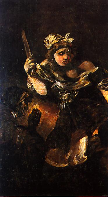 Judith y Holofernes Goya
