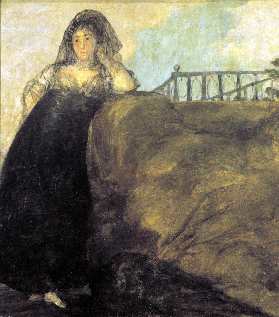 Una manola La Leocadia Goya