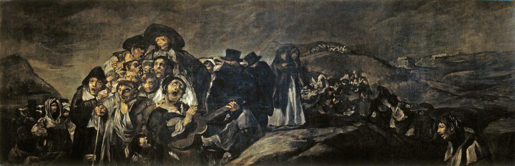 La romería de San Isidro Goya