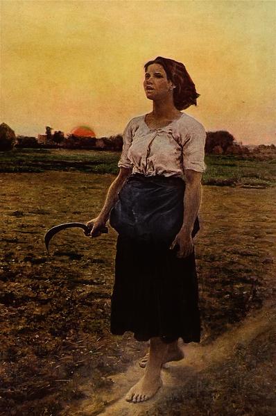 Le chant de l'alouette de Jules Breton (1884)