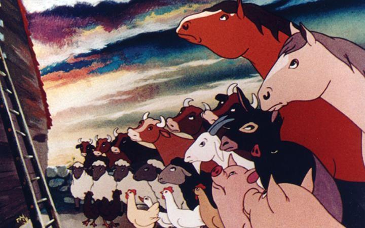 Animação Revolução dos Bichos