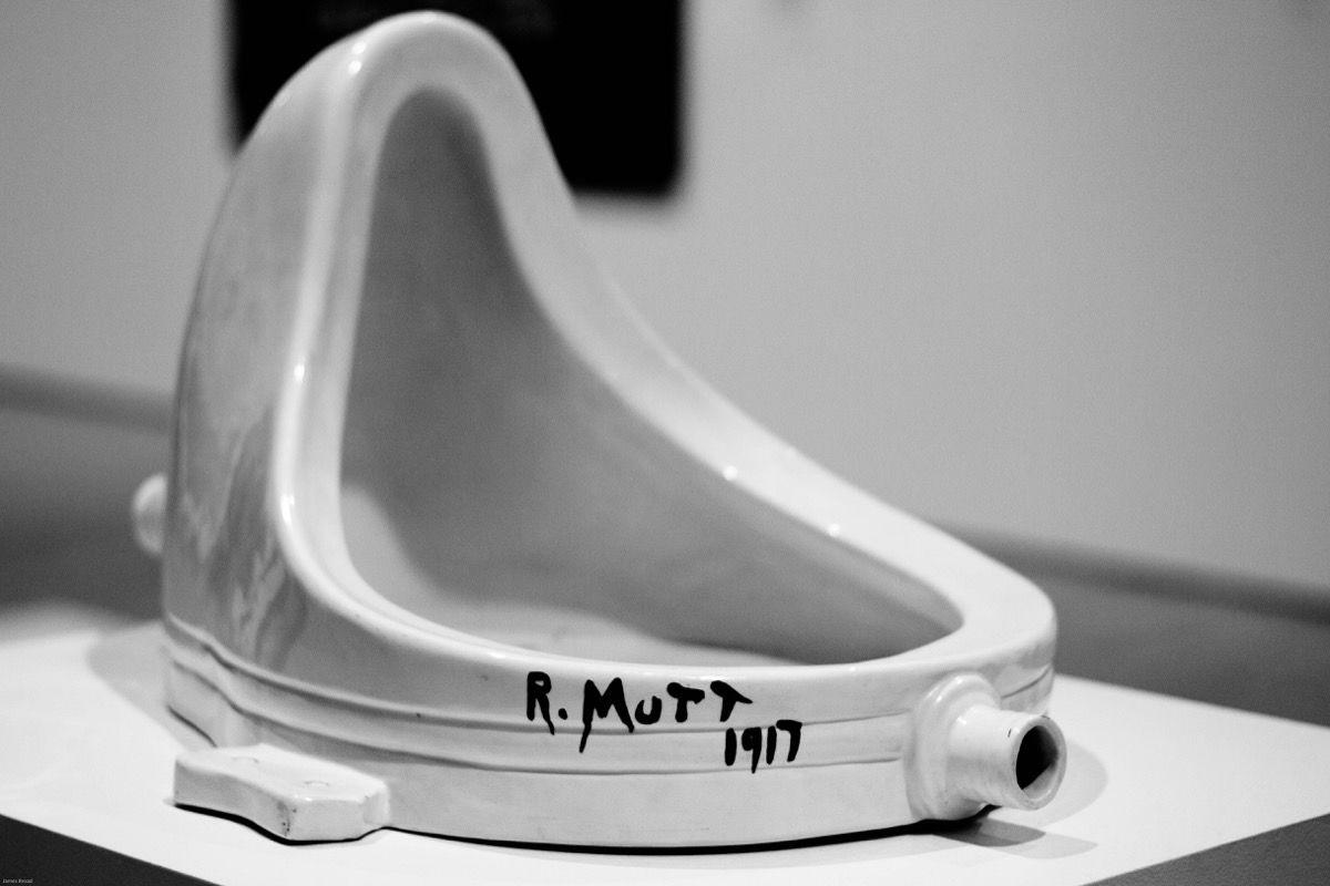 Descontexto e Marcel Duchamp Fountain
