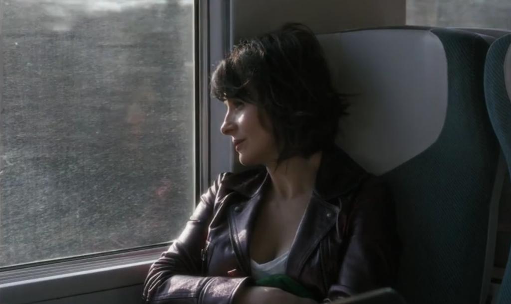 No filme de Claire Denis, Juliette Binoche.