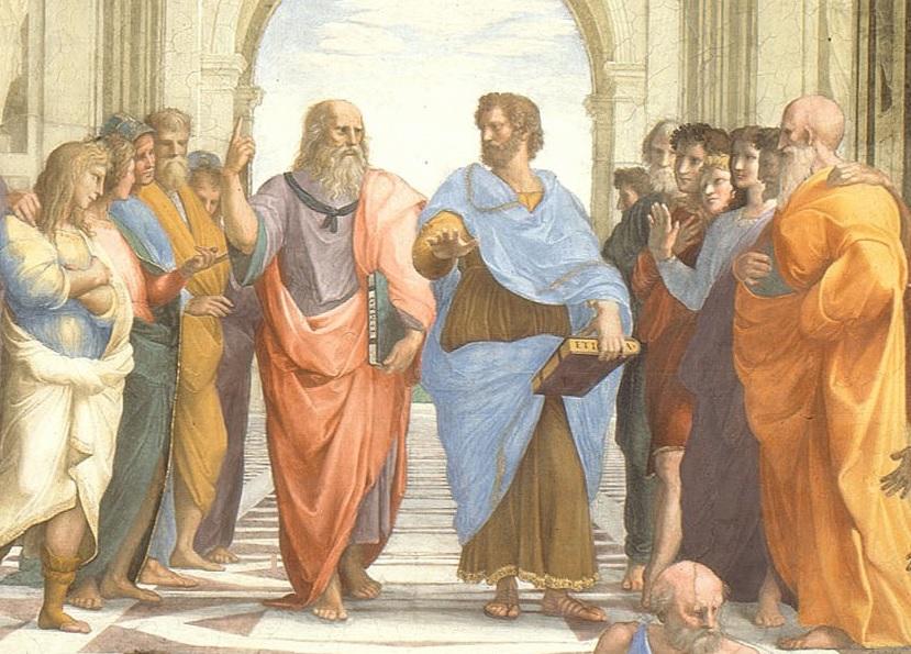 Plato Aristotle School of Athens