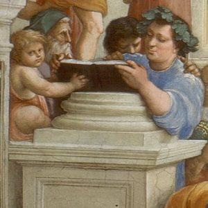 Epicurus and Zeno School of Athens